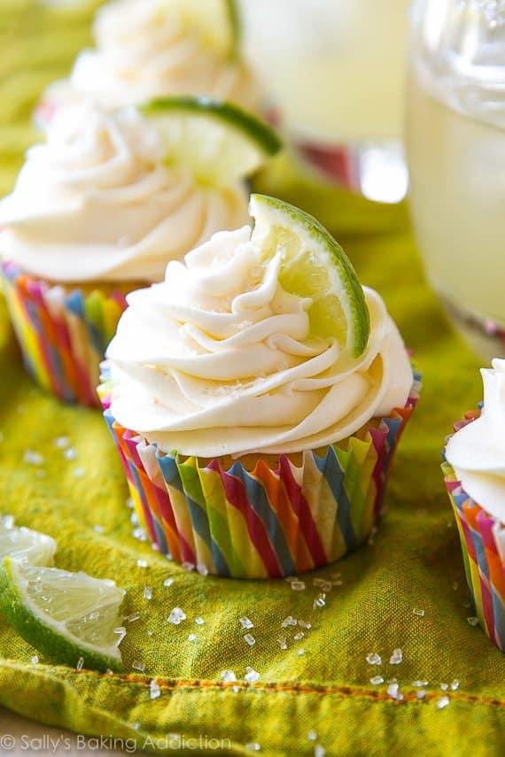 Margarita Cupcakes. | Sally's Baking Addiction | Bloglovin'