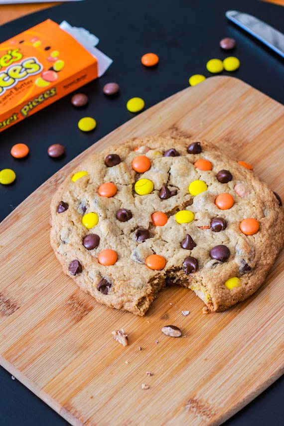 1 Giant Peanut Butter Reese's Pieces Cookie