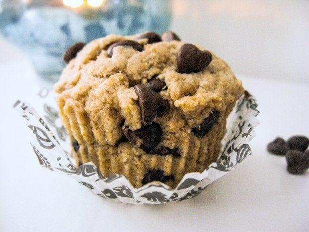 Single Serving Healthier Chocolate Chip Muffin - Sallys Baking ...