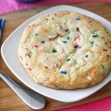 Giant Funfetti Sugar Cookie-14