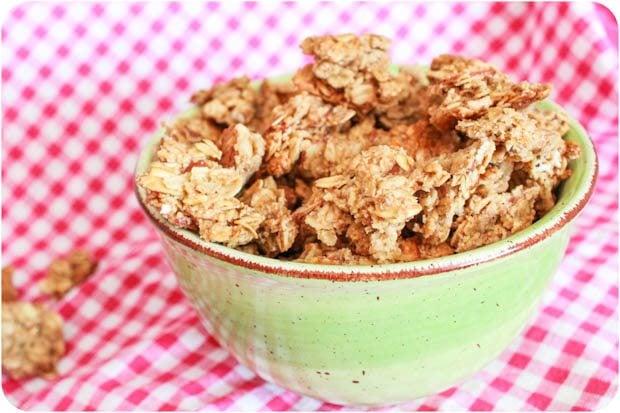 on granola peanut butter cup granola nutella granola pb j granola the ...