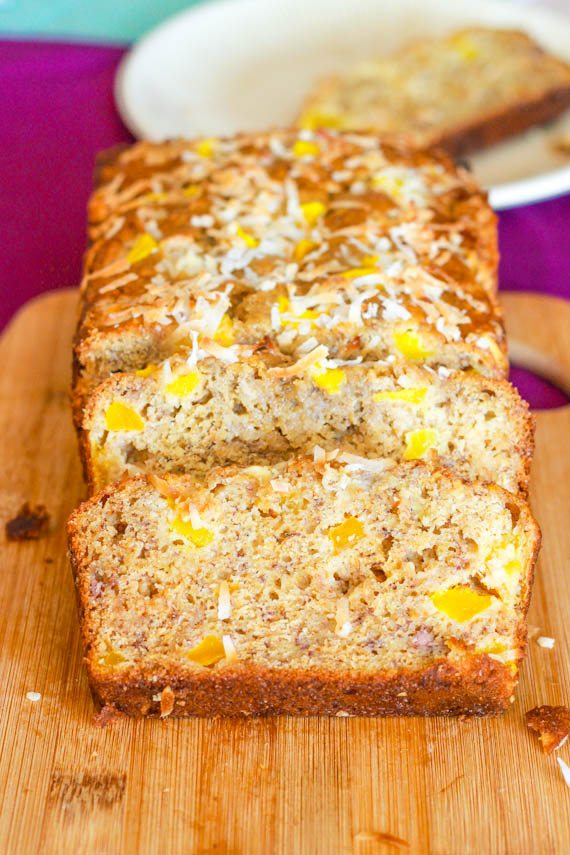 White Chocolate Mango Banana Bread-14