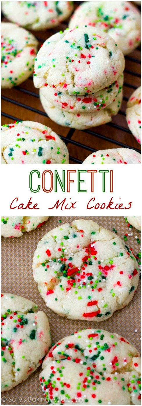 Cake Mix Cookies With Greek Yogurt