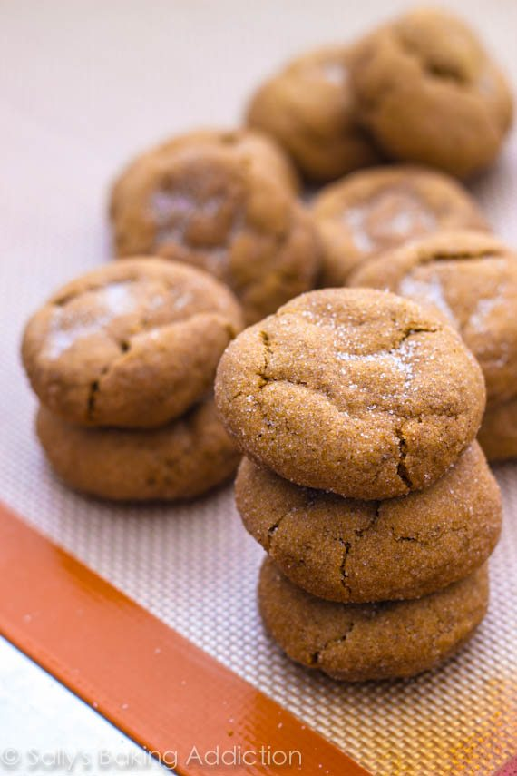 Soft Gingersnaps by Sallys Baking Addiction