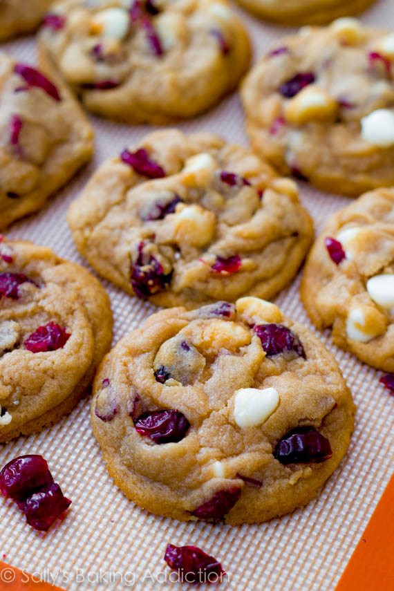 Soft-Baked White Chocolate Chip Cranberry Cookies - Sallys ...