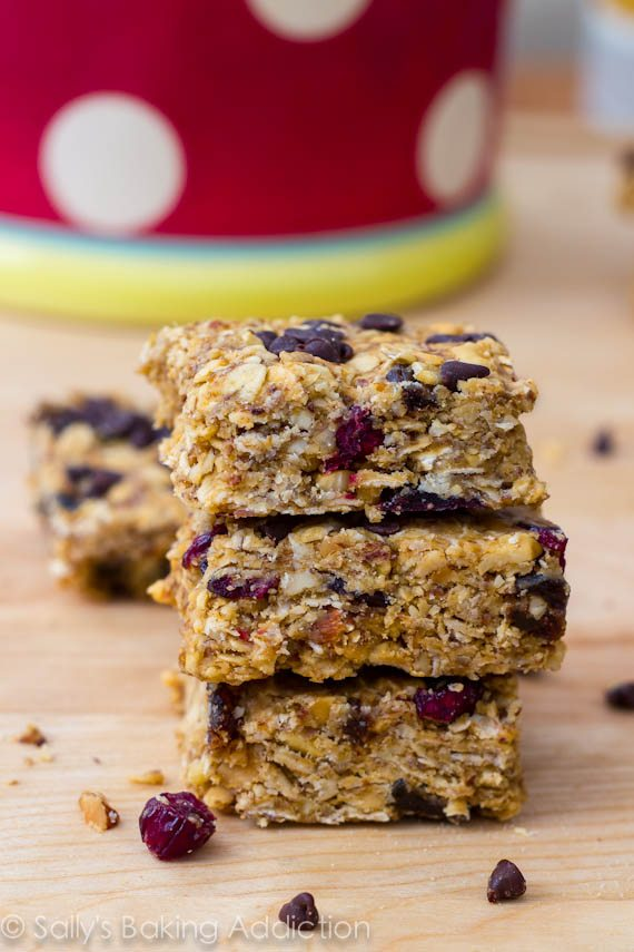 Peanut Butter Trail Mix Bars-3
