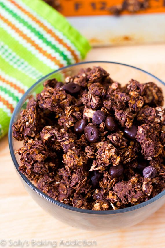 Triple Chocolate Granola_-5