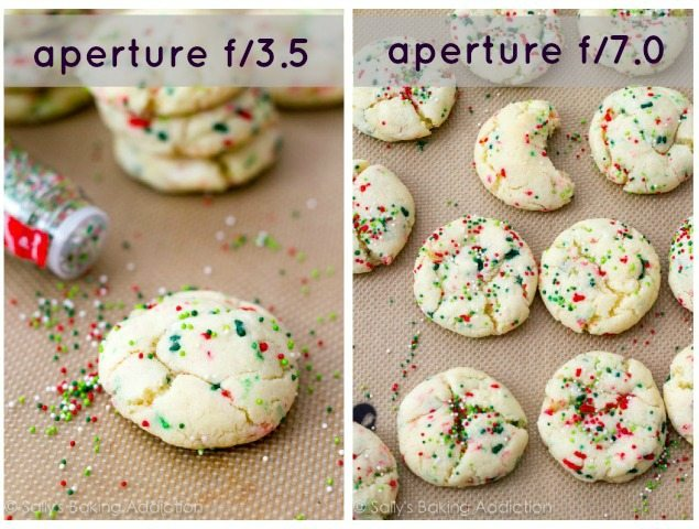 Aperture Differences