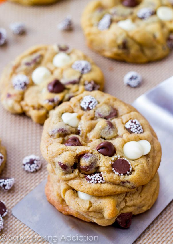Soft Puffy Chocolate Chip Cookies