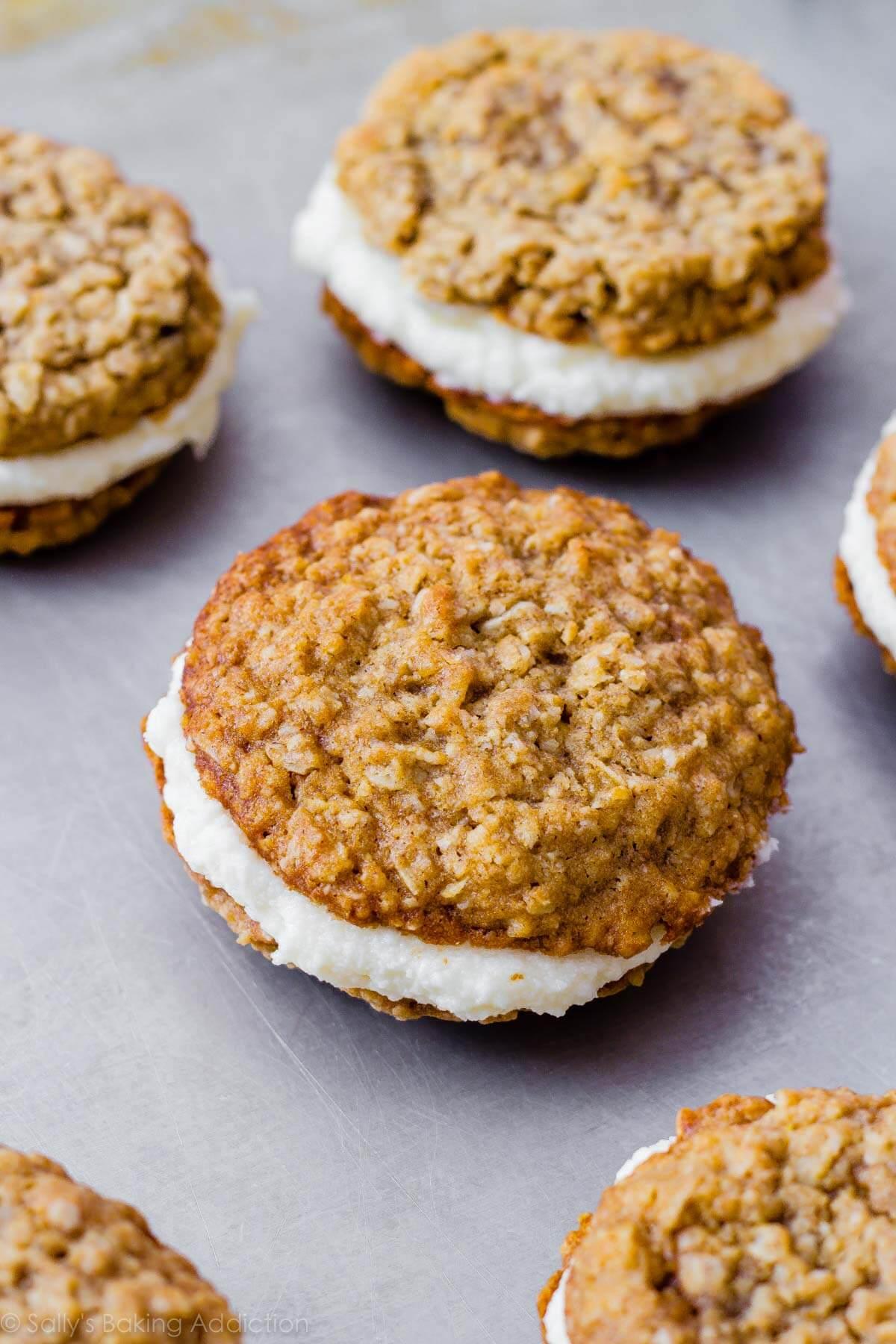 recipe: double decker oatmeal creme pie for sale [27]