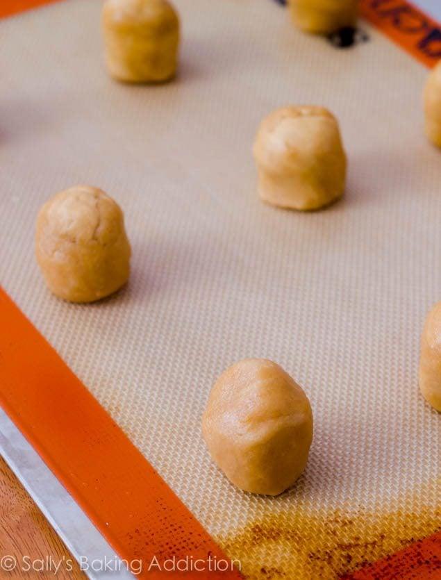 S'More Peanut Butter Cookies by sallysbakingaddiction.com