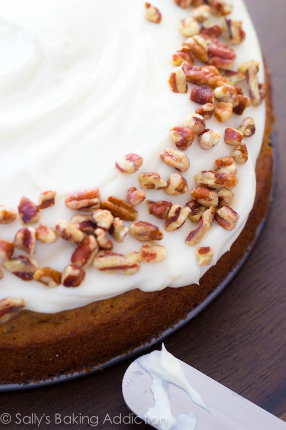 The only carrot cake recipe you will ever need!