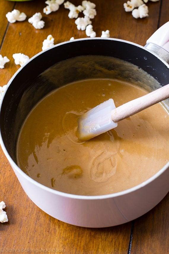 Peanut Butter Caramel Corn on Sally's Baking Addiction