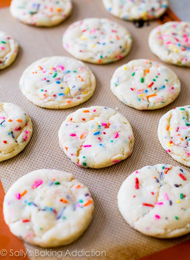 Soft-Baked Funfetti Sugar Cookies