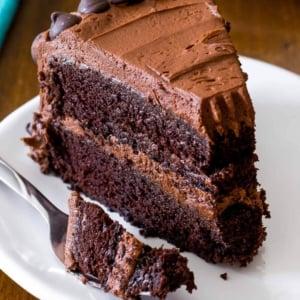 Triple Chocolate Layer Cake Sallys Baking Addiction