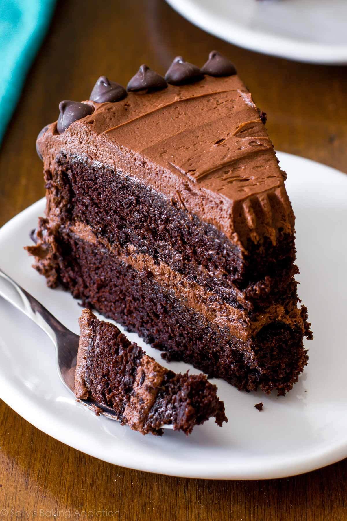 Chocolate Layer Cake Baking Chocolate