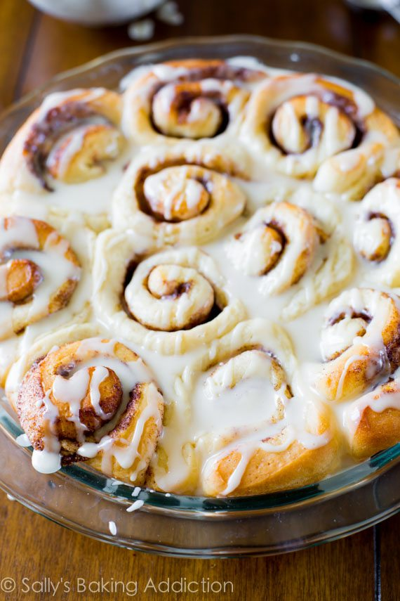 Easy Cinnamon Rolls From Scratch Sally S Baking Addiction