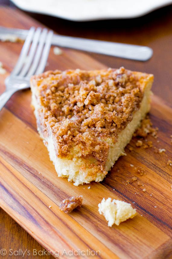 Coffee cake recipe no yeast