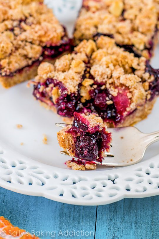 Blueberry pie without the hassle of making a homemade pie crust!