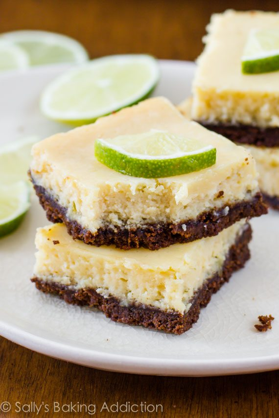 Incredibly easy and amazing Key Lime Pie Bars. These zesty bars will disappear. I recommend doubling the recipe!
