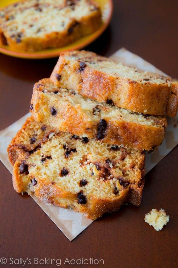 Cinnamon-Swirl Chocolate Chip Bread