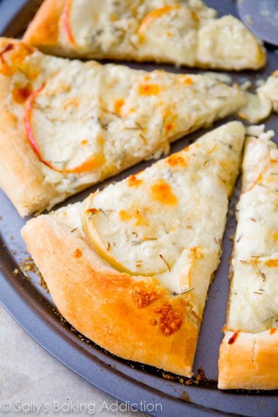 Caramelized Apple Gorgonzola Pizza