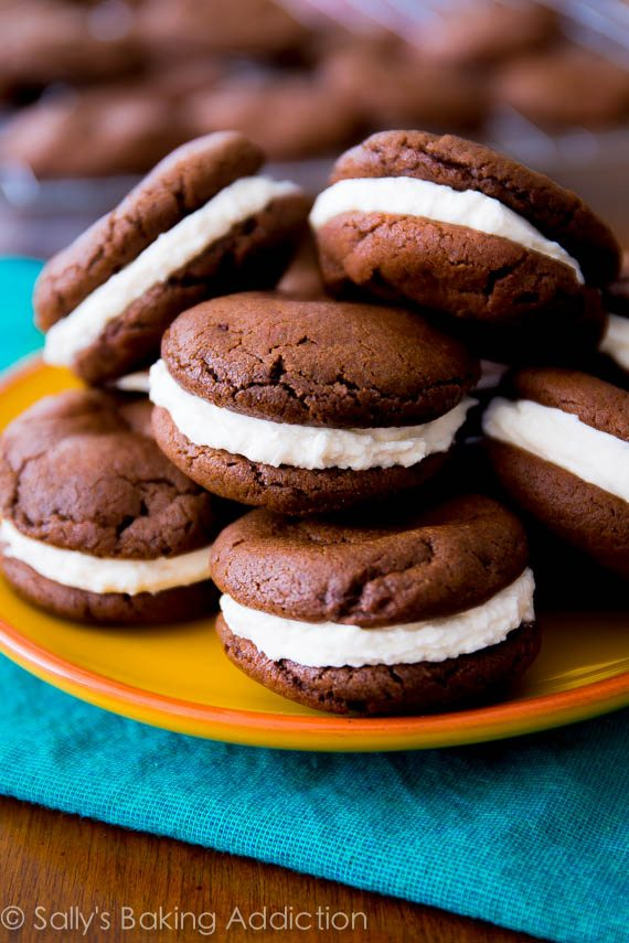A simple homemade version of your favorite cream-filled chocolate cookie. Plus, make homemade mint Oreos too!