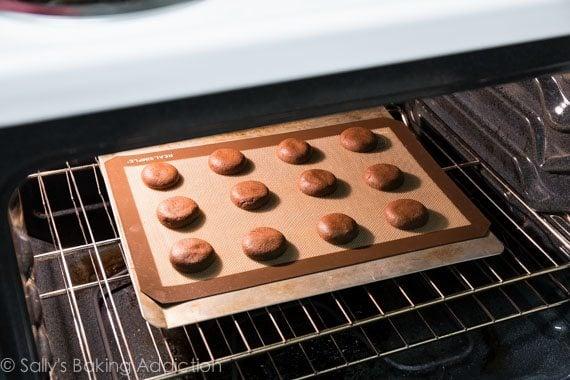 How to Make Homemade Oreo Cookies. Step-by-step photos at sallysbakingaddiction.com