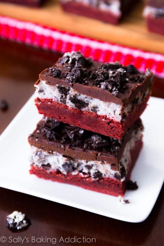 Two Layered Red Velvet Cake