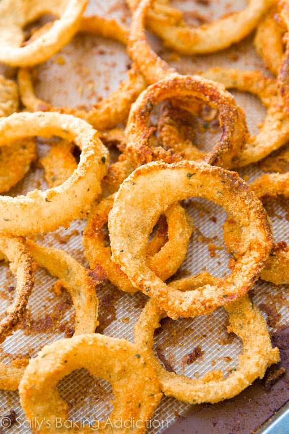 How to Make Crispy Baked Onion Rings