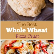 Whole Wheat Pizza Crust