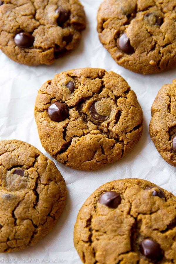 Ingredient Flourless Almond Butter Chocolate Chip Cookies - gluten ...