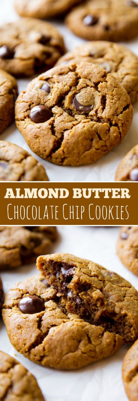 Almond Butter Chocolate Chip Cookies - Sallys Baking Addiction