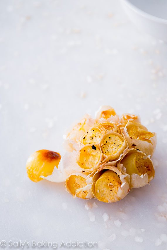 Learn exactly how to roast garlic! It adds the perfect flavor to nearly any savory dish.