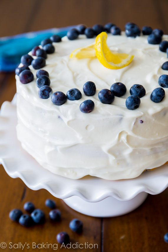 Recipe For Blueberry Cake With Fruit Filling