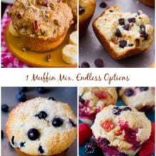 Sally's Master Muffin Batter - 1 mix, endless options to create bakery-style muffins at home!