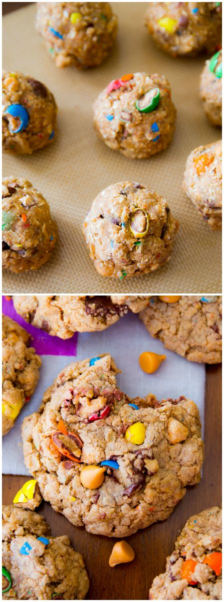 Soft, chewy, simple oatmeal cookies that are perfect for your favorite add-ins like butterscotch, candies, nuts, and more!