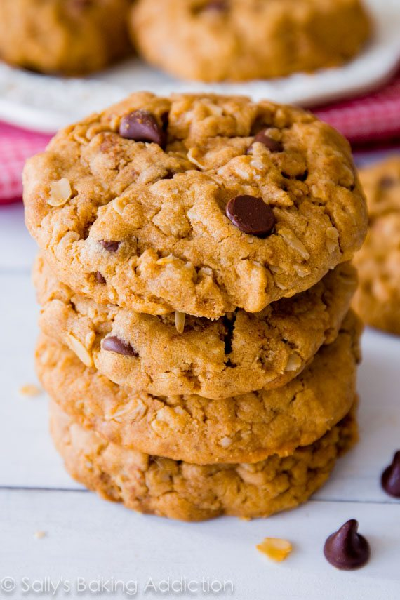 Flourless Peanut Butter Oatmeal Cookies - Sallys Baking ...