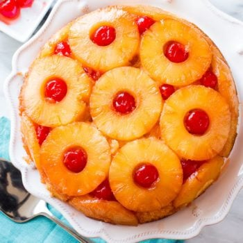 Here is my favorite recipe for Pineapple Upside-Down Cake! sallysbakingaddiction.com