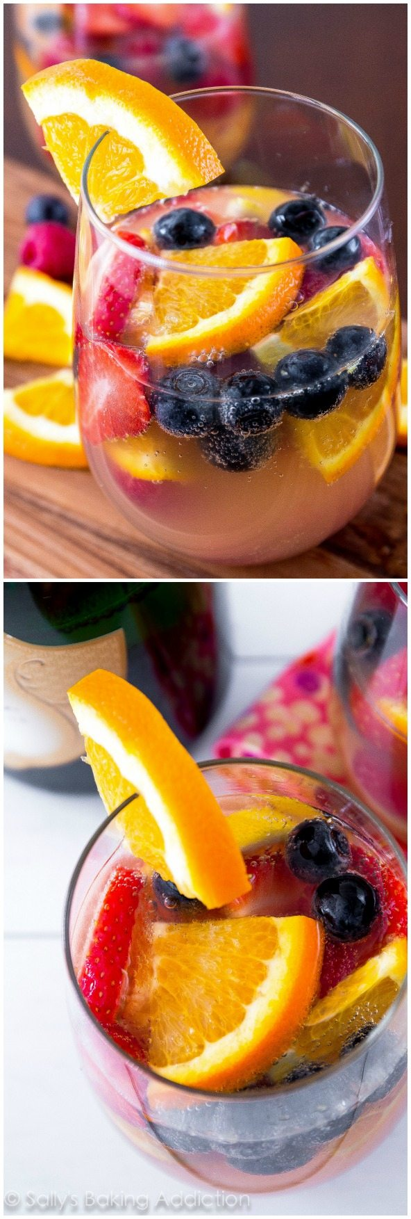 The BEST white sangria! Fruity, bubbly, and perfect for any occasion ...