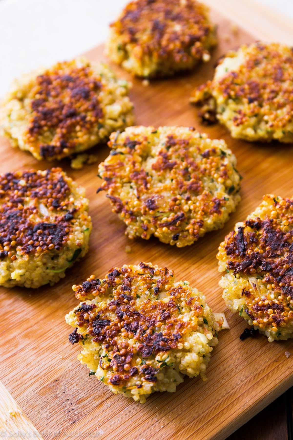 Quinoa Cakes Recipes Vegan