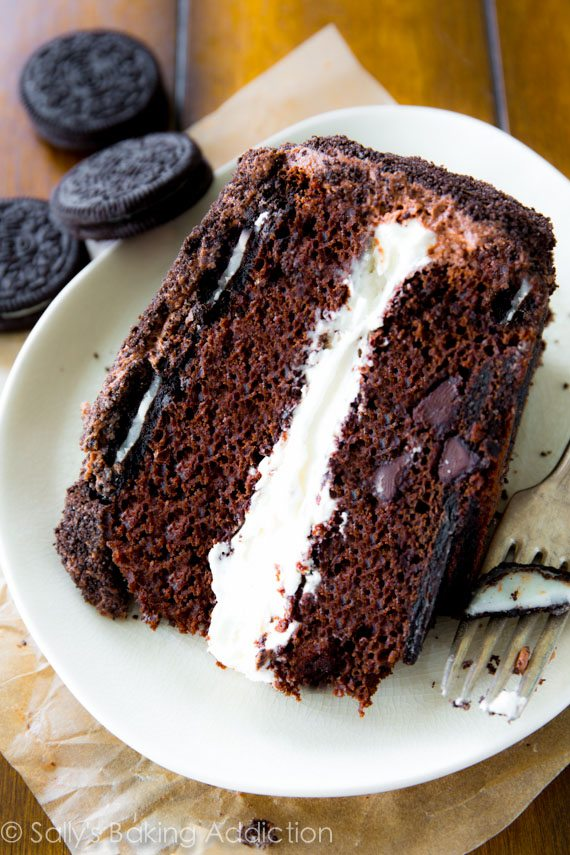 Oreo Cake. - Sallys Baking Addiction