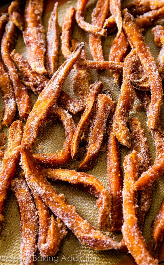 Baked Cinnamon Sugar Sweet Potato Fries