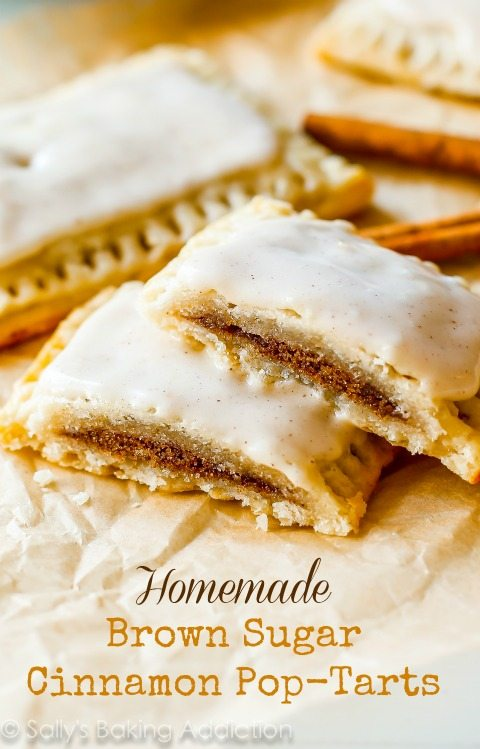 ... ONLINE: |SASSY SNACKS| Homemade Frosted Brown Sugar Cinnamon Pop-Tarts