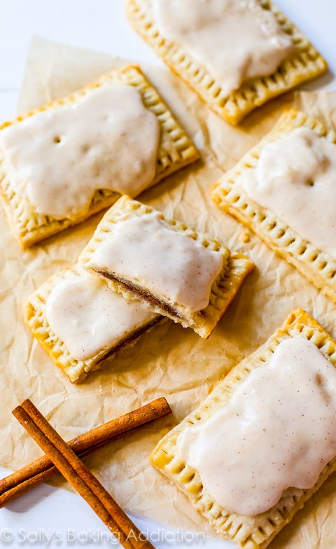 pop-tart lovers, here are my Homemade Brown Sugar Cinnamon Pop-Tarts ...
