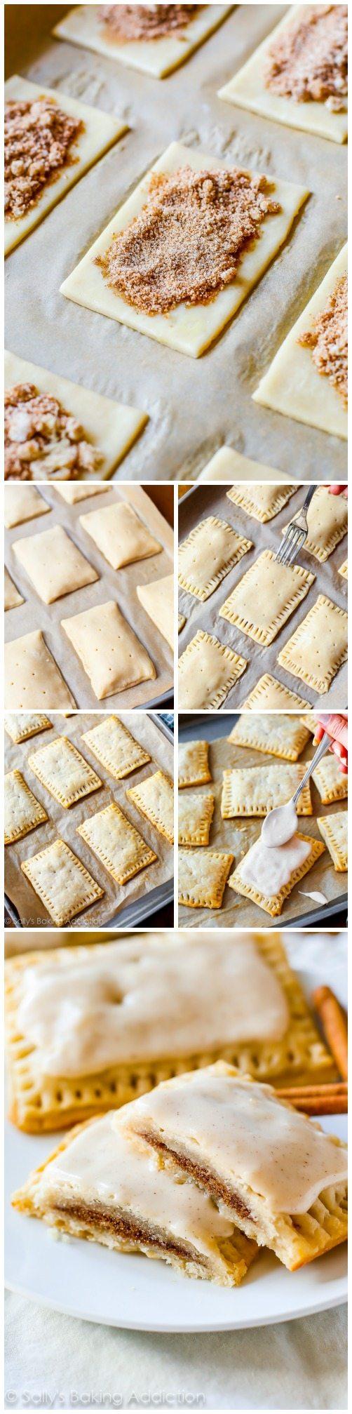 Homemade Brown Sugar Cinnamon Pop-Tarts are even tastier than the ...