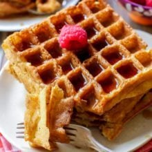 My Favorite Buttermilk Waffles-3