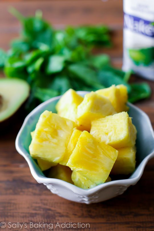 Pineapple for Glowing Skin Smoothie