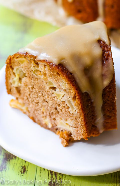 Moist apple bundt cake recipe