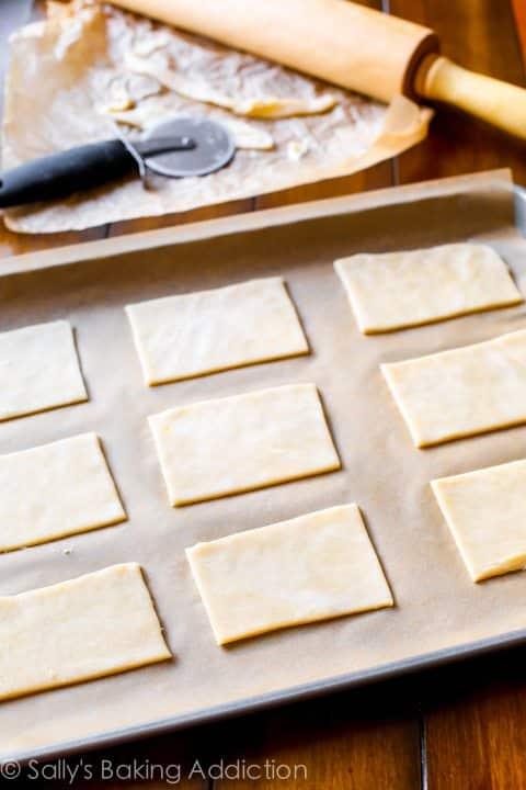 How to Make Brown Sugar Cinnamon Pop Tarts from scratch - recipe by sallysbakingaddiction.com
